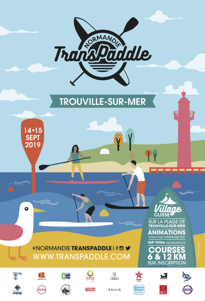TRANSPADDLE TROUVILLE 118,5x175CMdemi HD