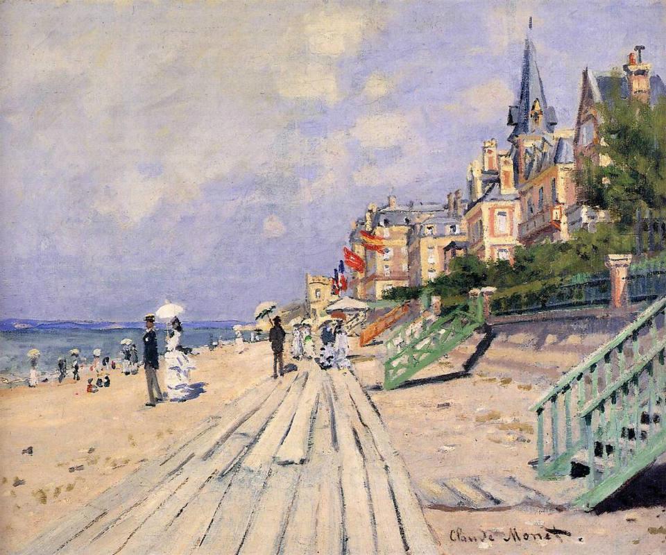 Claude-Monet-promenade-planches-plage-Trouville-sur-Mer