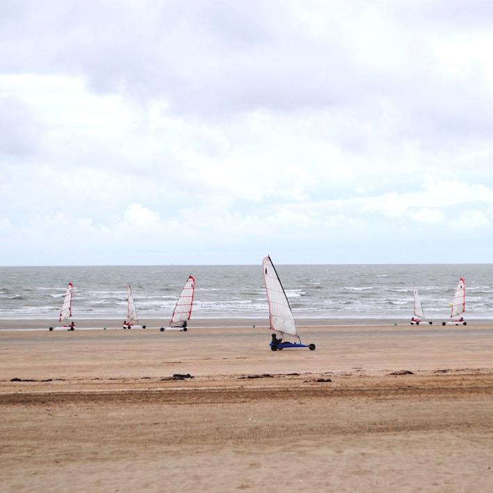 Activités sur la plage - Char à voile