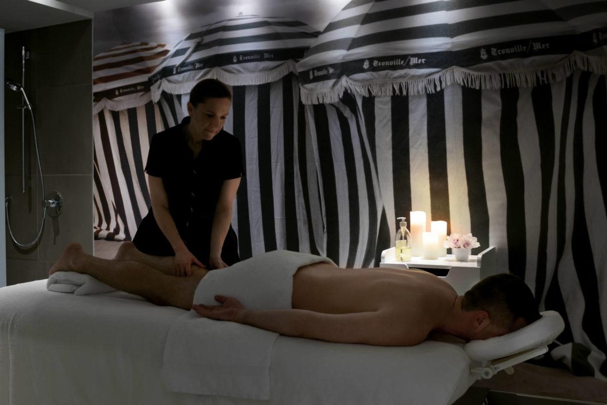 Massage bien-être aux Cures Marines