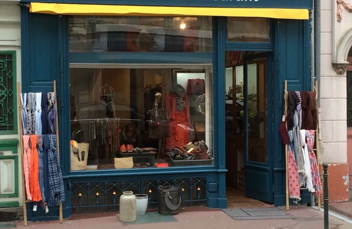 Boutique de vêtements pour faire son shopping