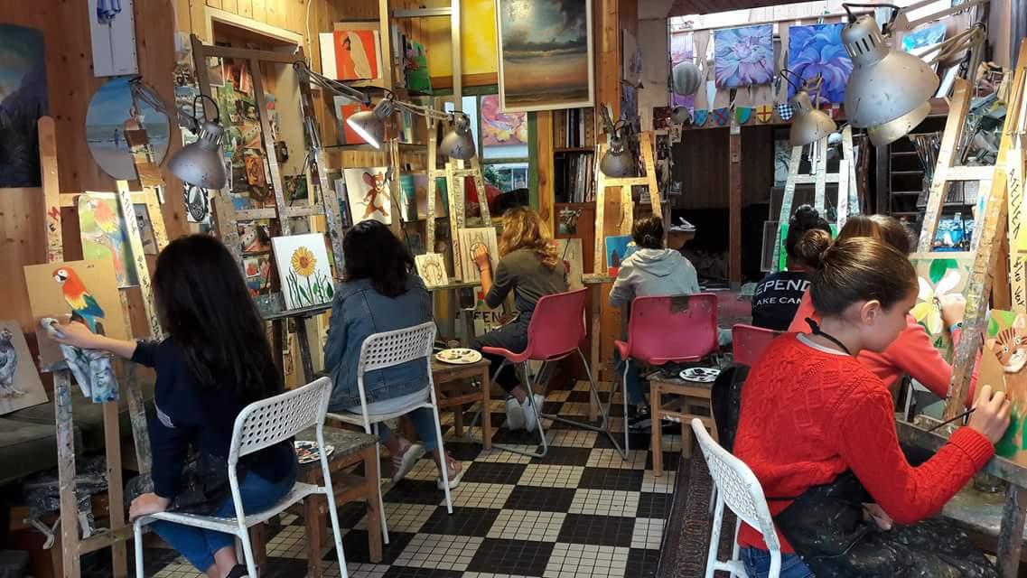 Atelier créatif en famille - Peinture