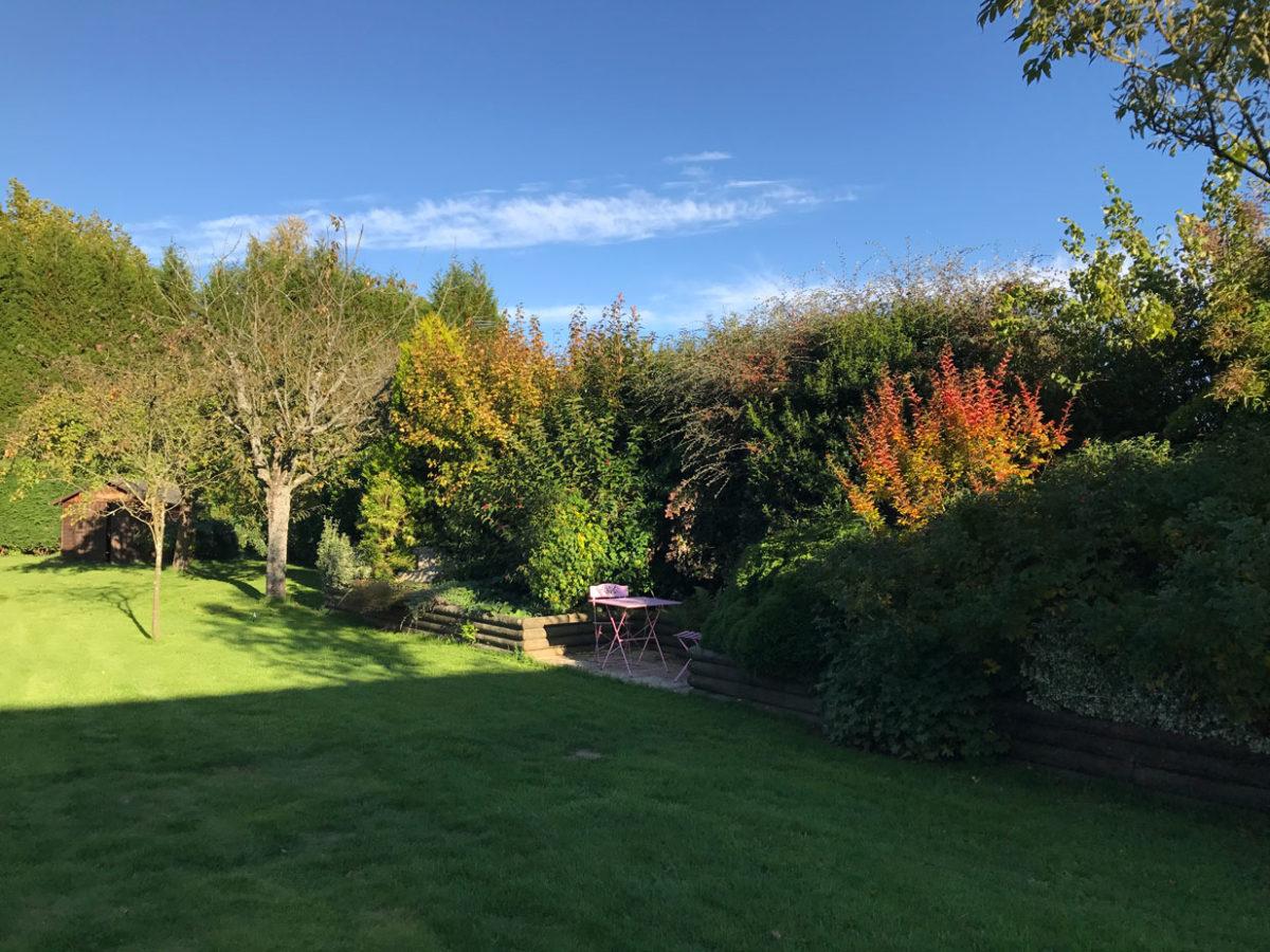 Jardin campagne