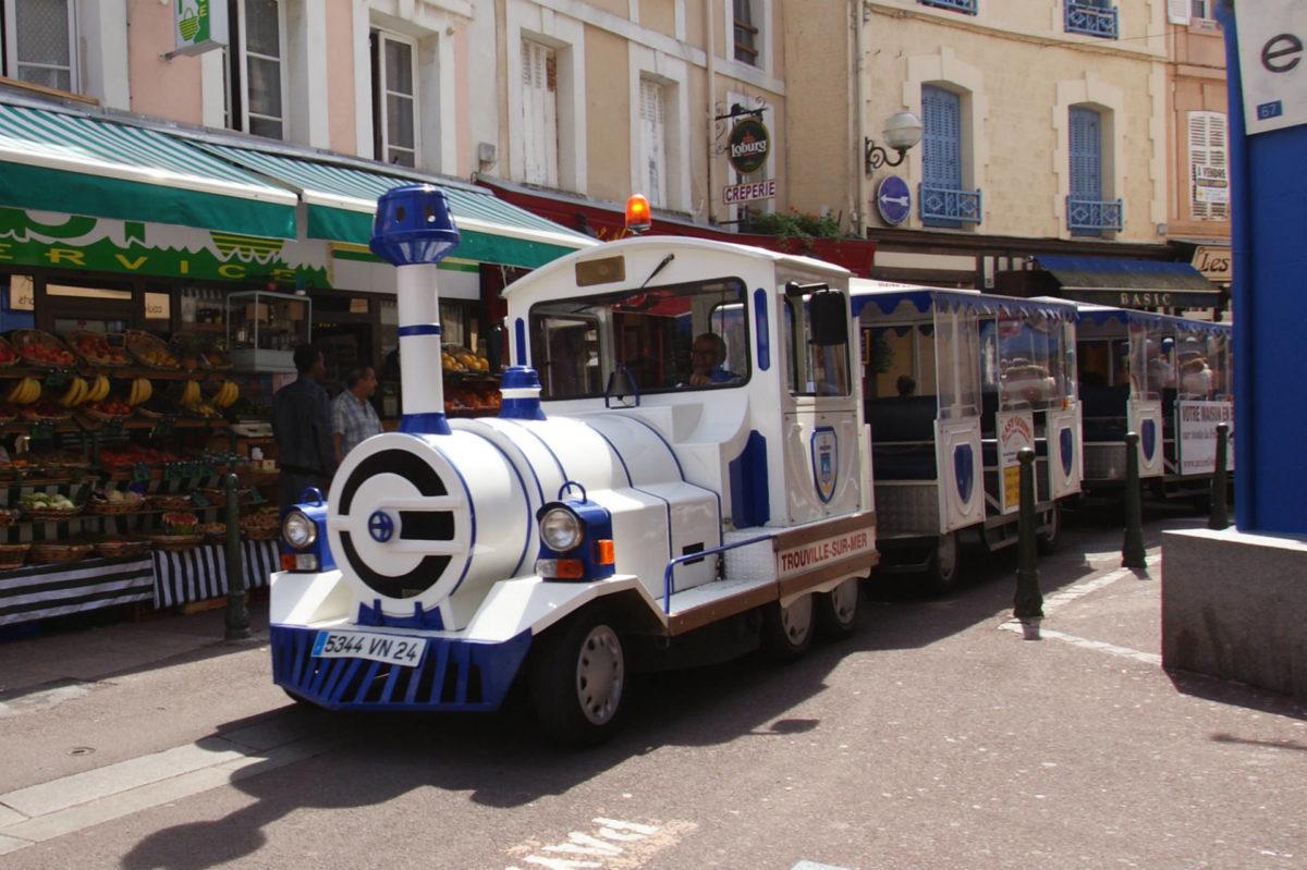 Petit train visite Trouville