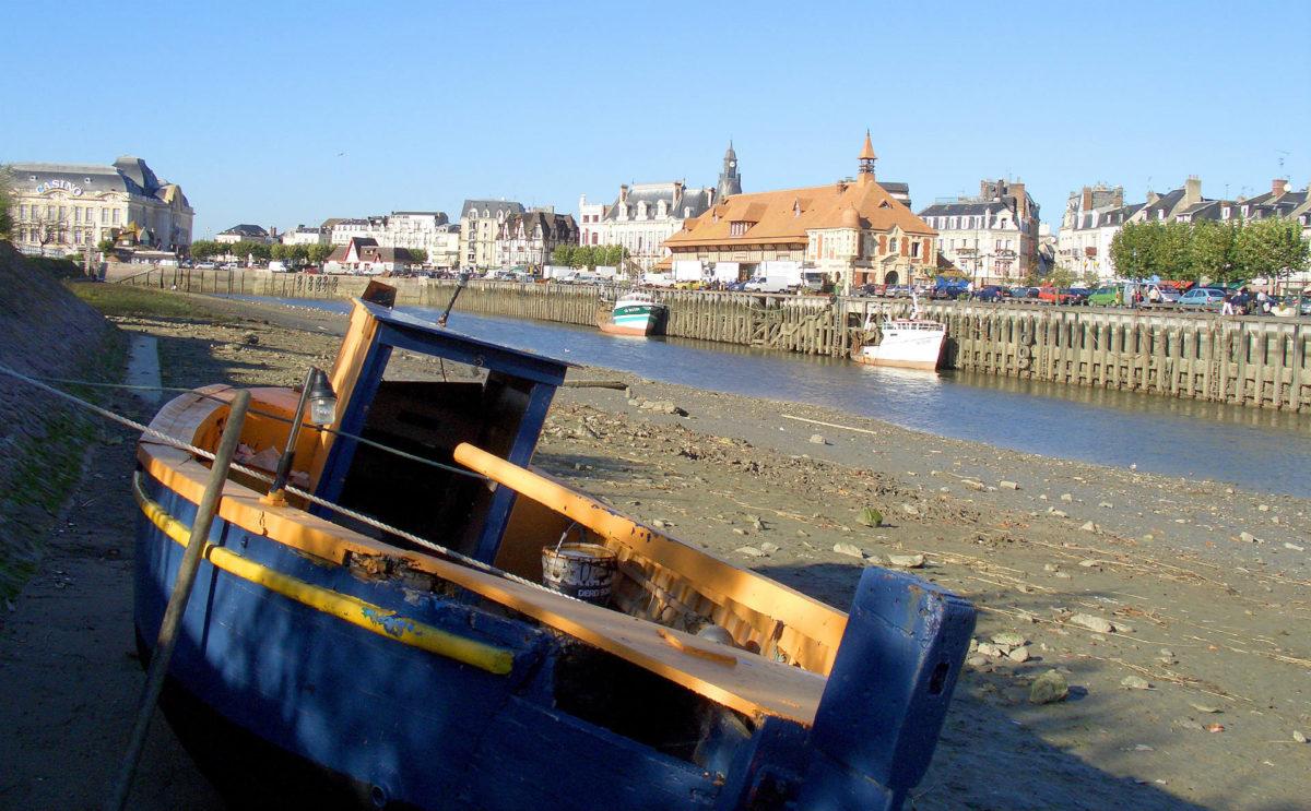barque-port-de-pêche-Trouville-sur-Mer