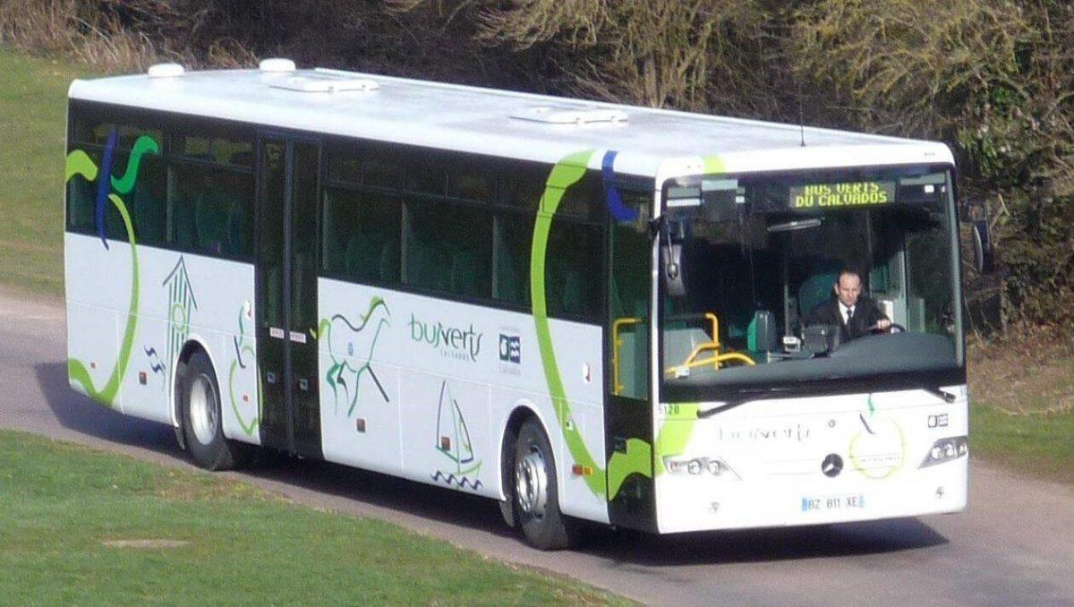 Se déplacer en bus vert