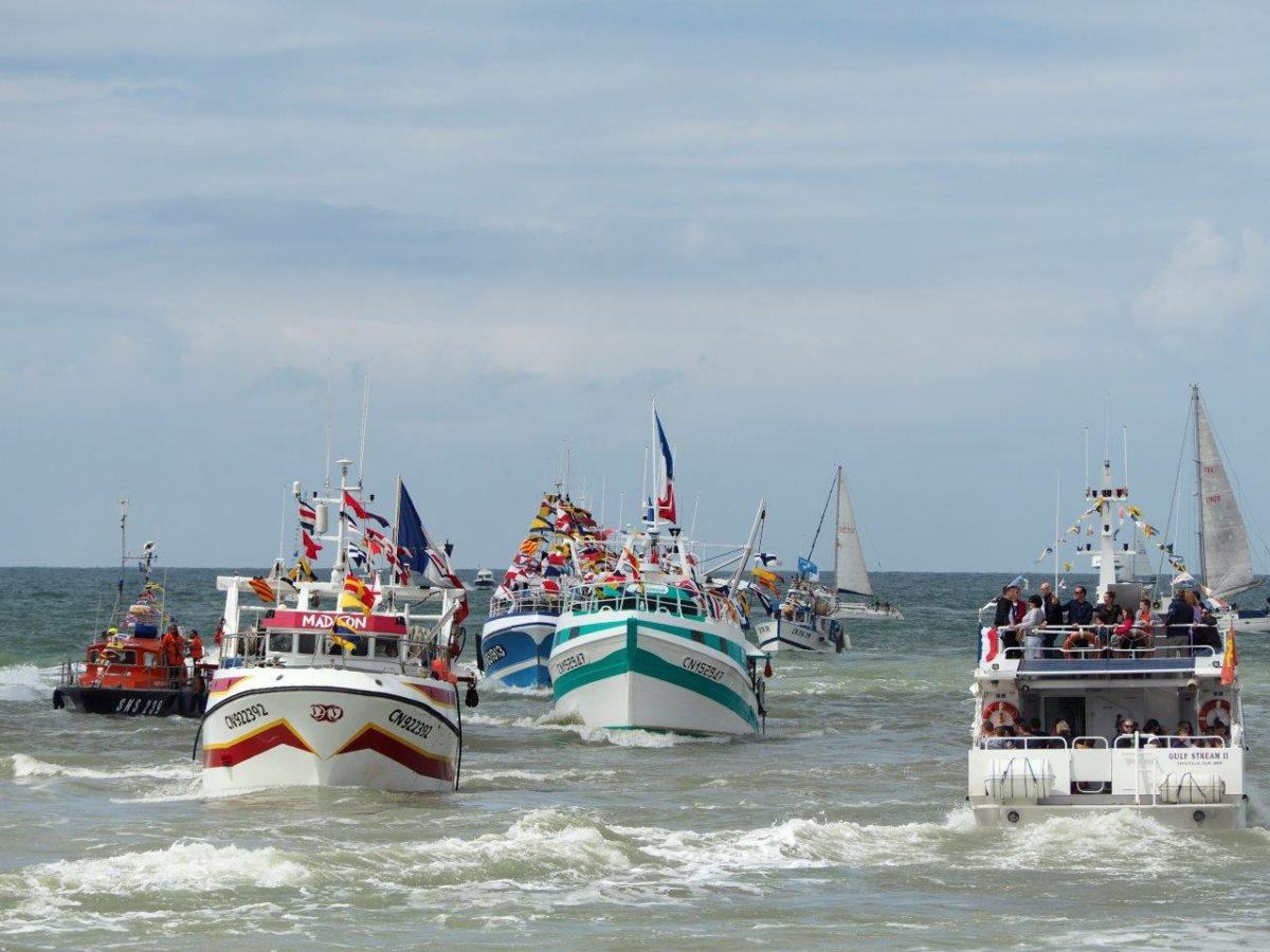 Sortie en mer bateaux décorés