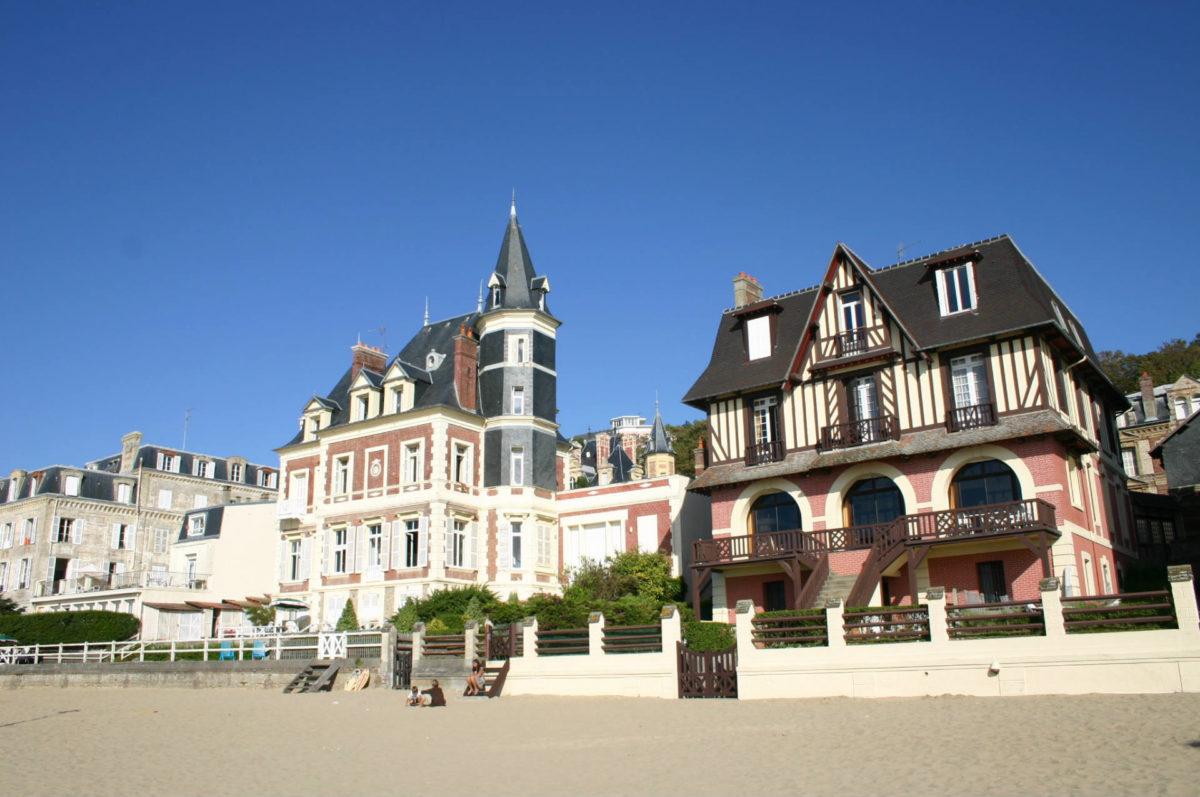 Villas de bord de mer à Trouville-sur-Mer