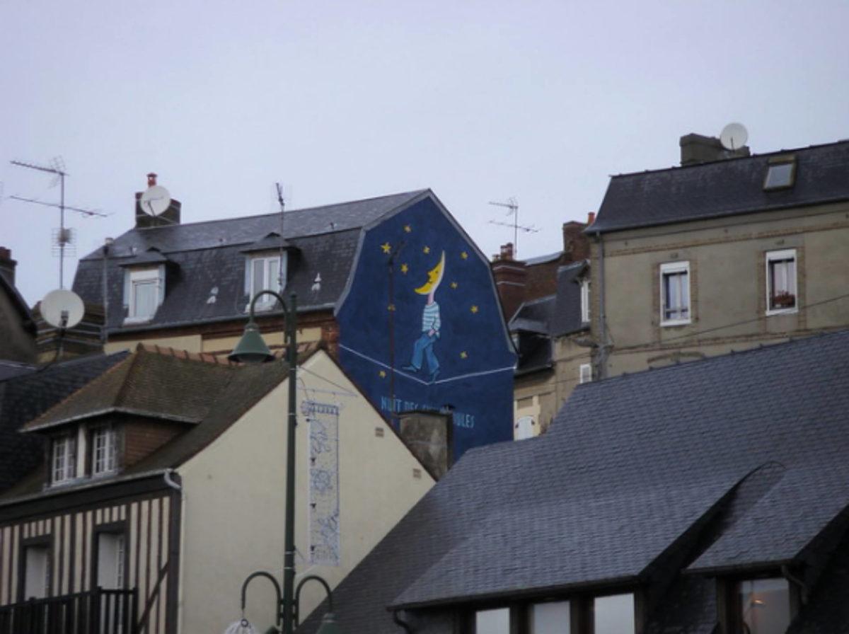 Mur-peint-Savignac-Trouville-sur-Mer