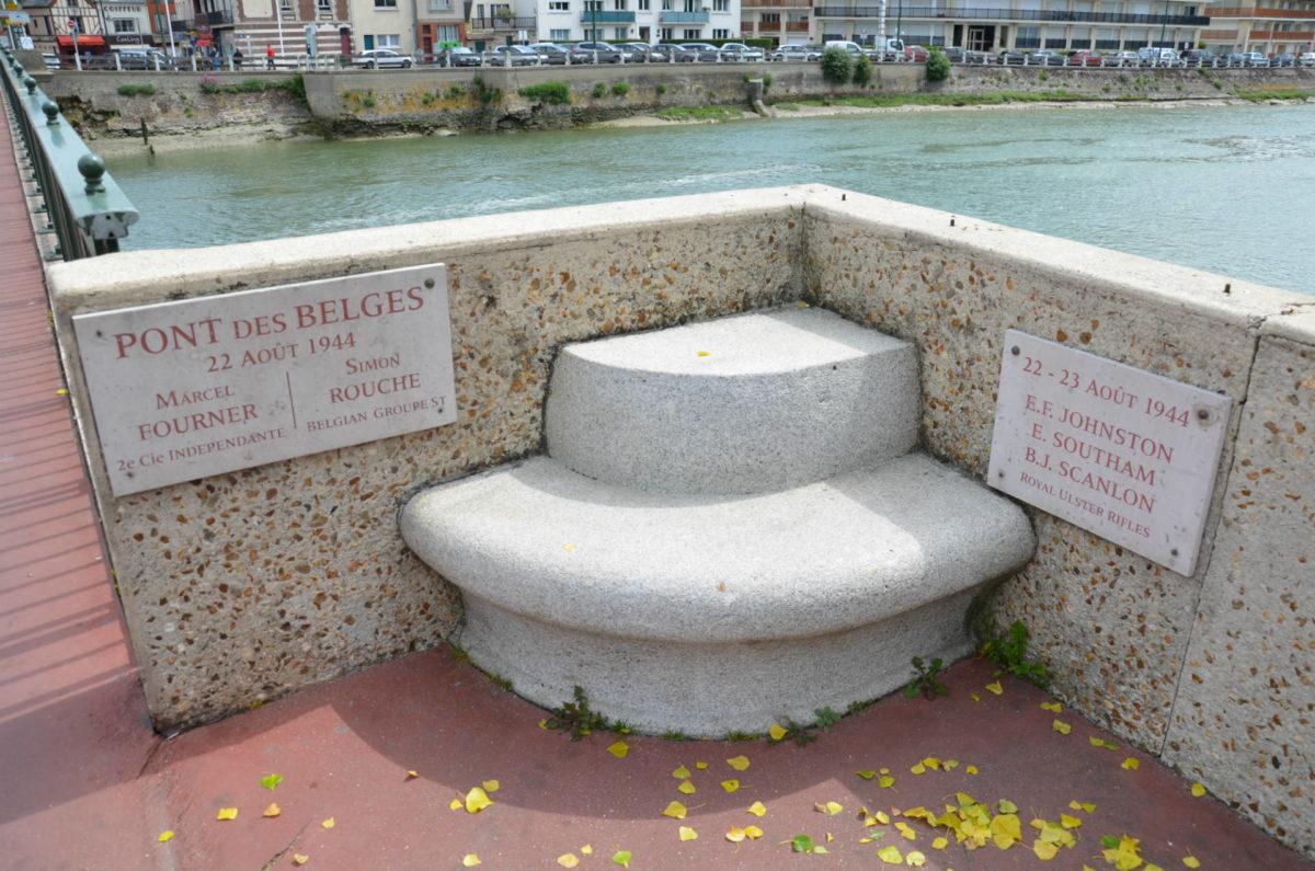 Plaque Pont des Belges