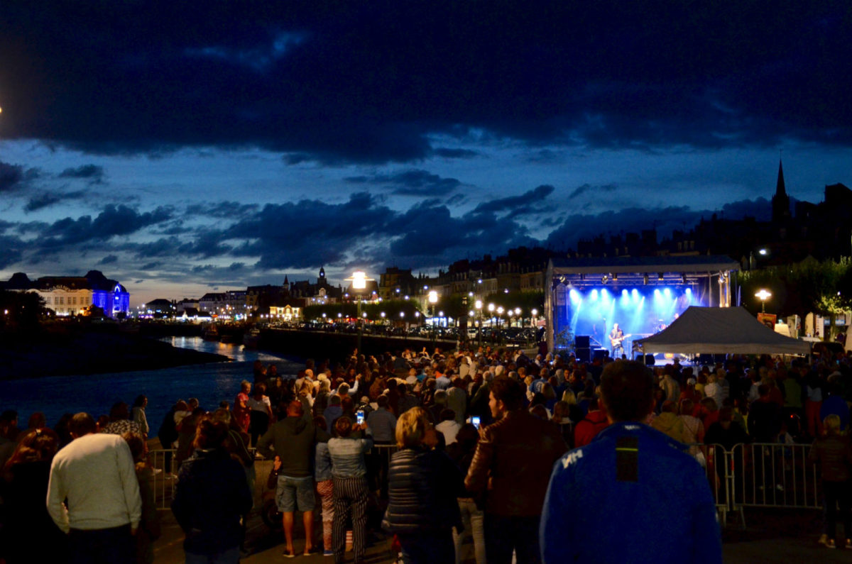 Concert sur les quais à Trouville-sur-Mer