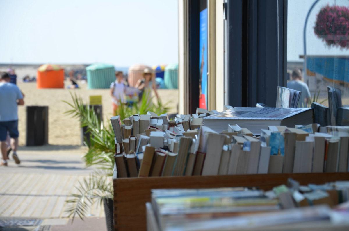 livres-plage-Trouville-sur-Mer