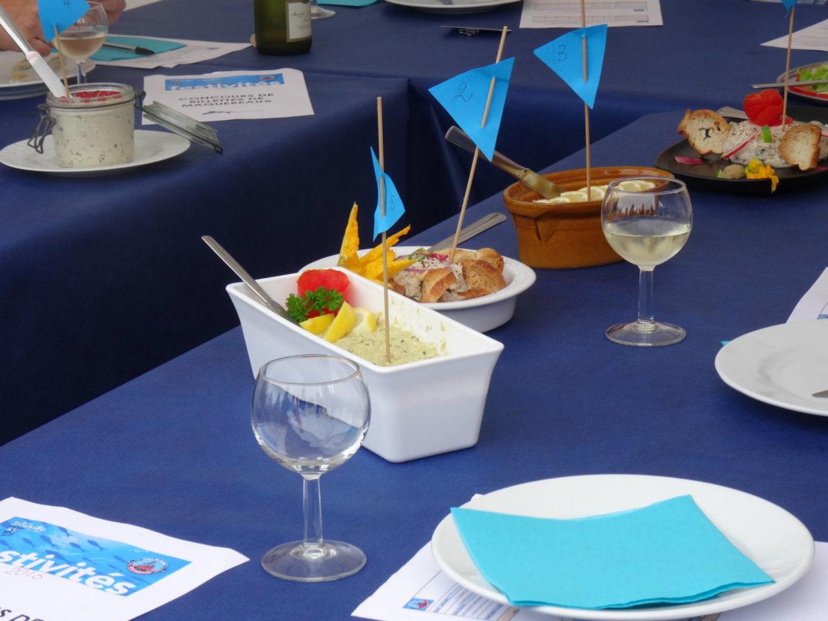 Rillettes de maquereaux à goûter lors de la fête de la mer