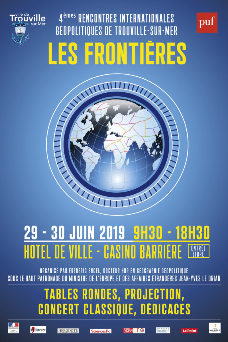 Affiche rencontres internationales géopolitiques 2019