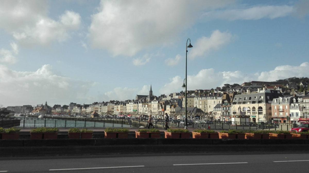 Sur le Pont des Belges