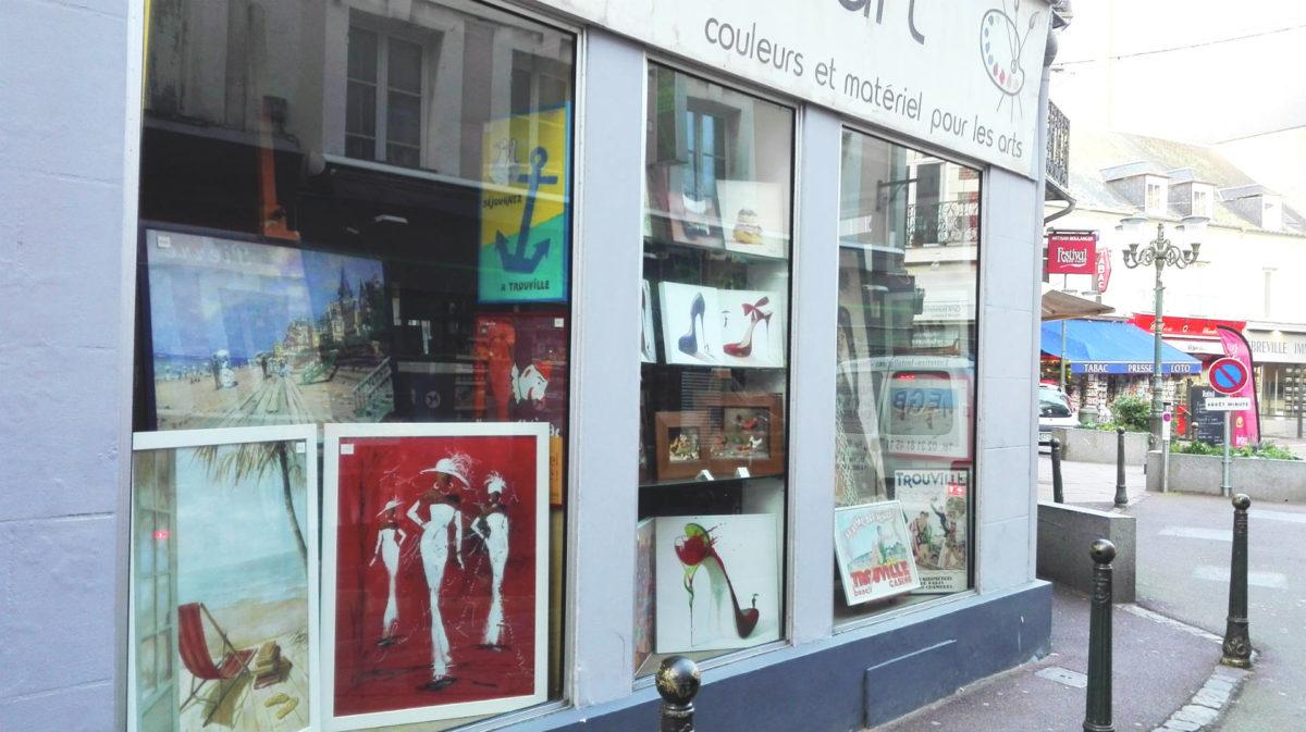 Galerie artistes Trouville