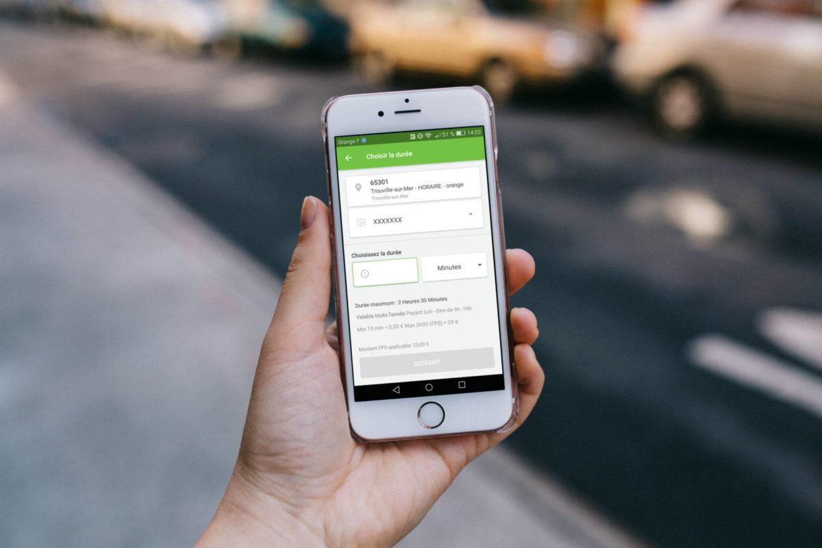 Stationner avec Paybyphone