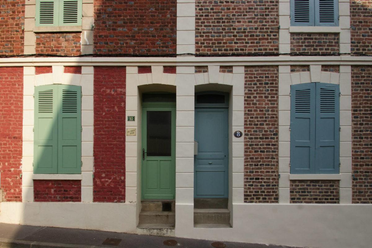Rues de Trouville authenticité architecture maisons de pêcheurs