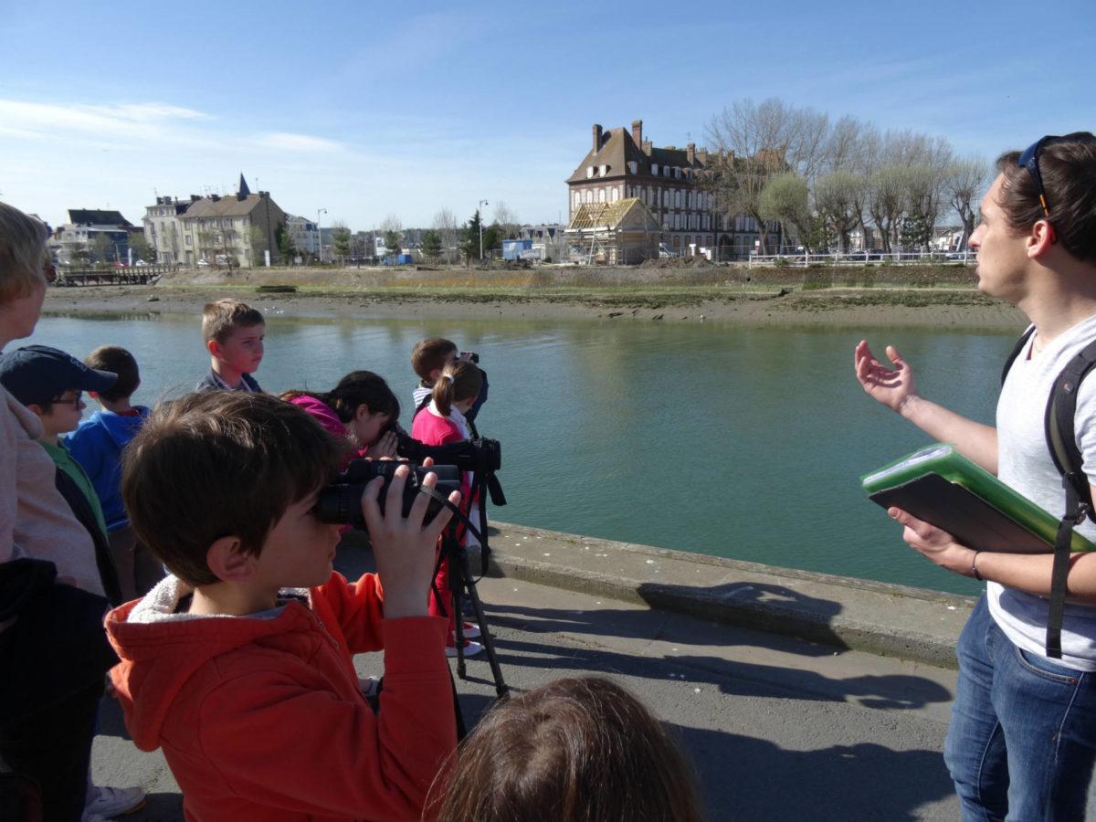 Enfants en visite - Transmettre l'amour de Trouville