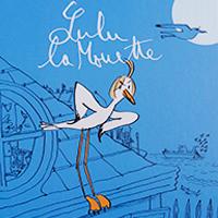 Livre Lulu la mouette : 14,50€