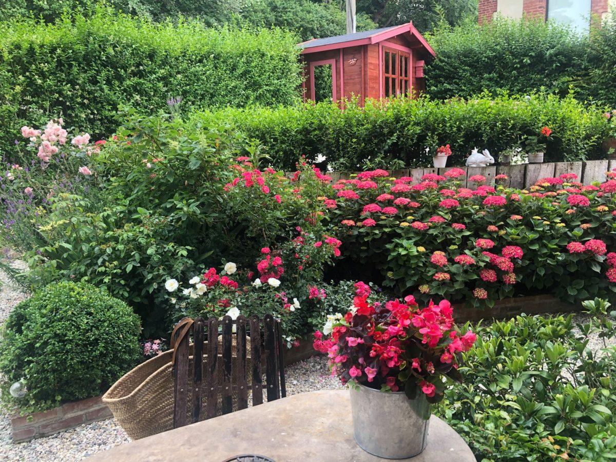 Villa rosario jardin