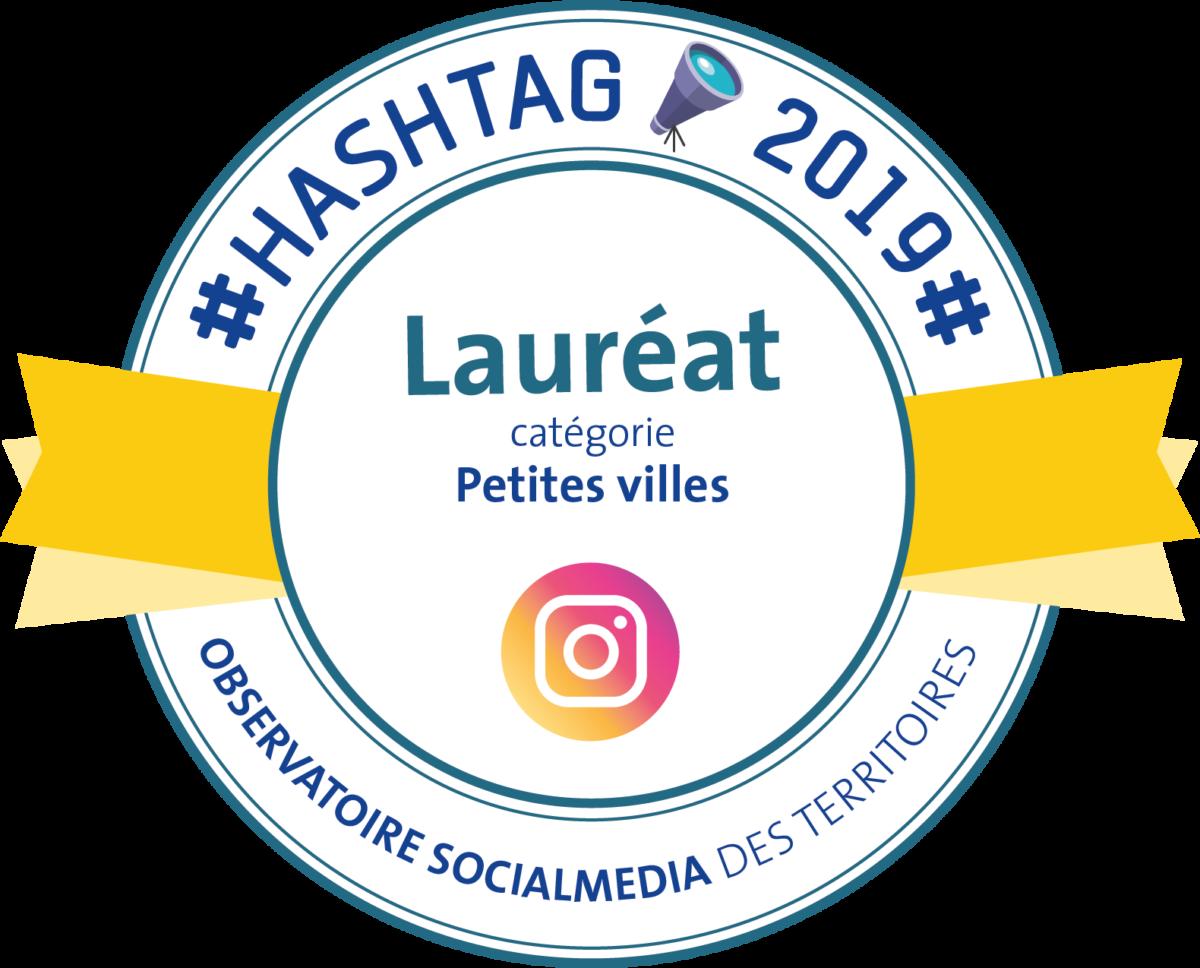 Trouville-sur-Mer, lauréate #Hashtags19