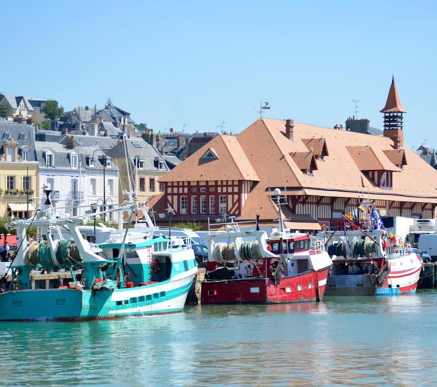 Authenticité - port de Trouville-sur-Mer