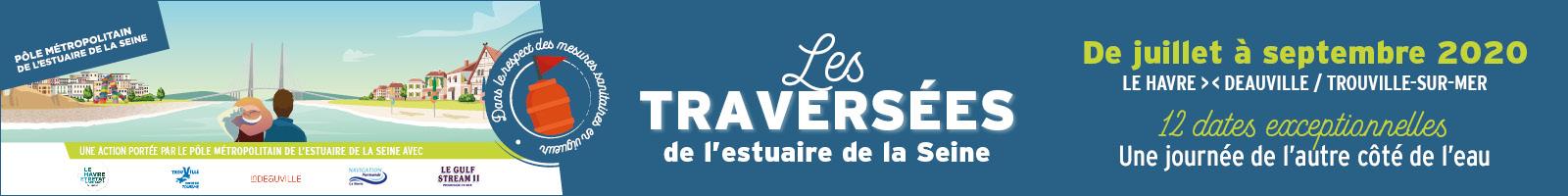 Les Traversées de l'estuaire de la Seine