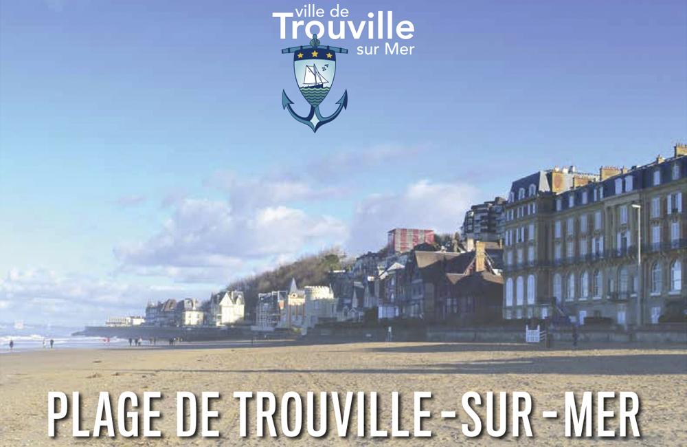 Rappel des règles sur la plage de Trouville-sur-Mer