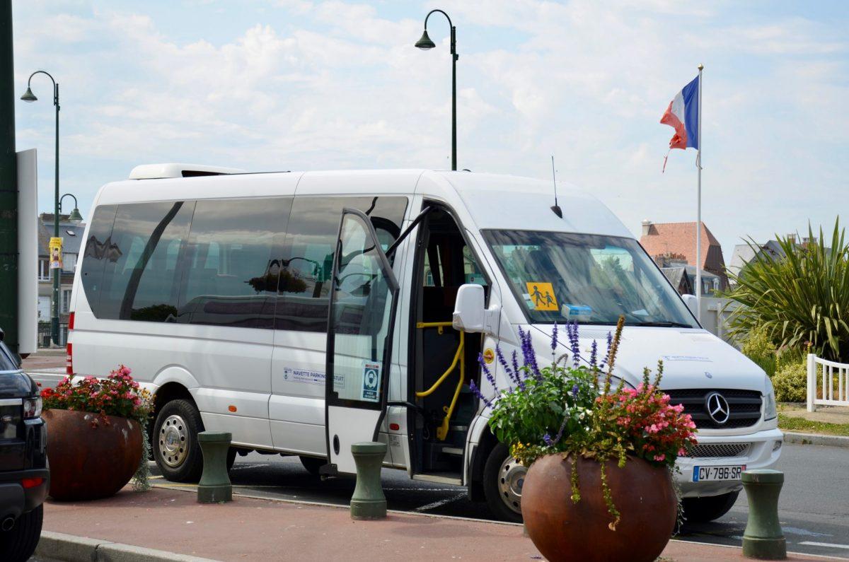 Navette et parking gratuits pendant les vacances