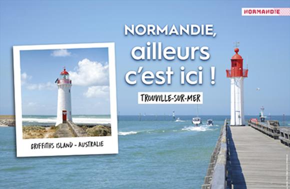 « Normandie, ailleurs c'est ici », avec la SNCF !