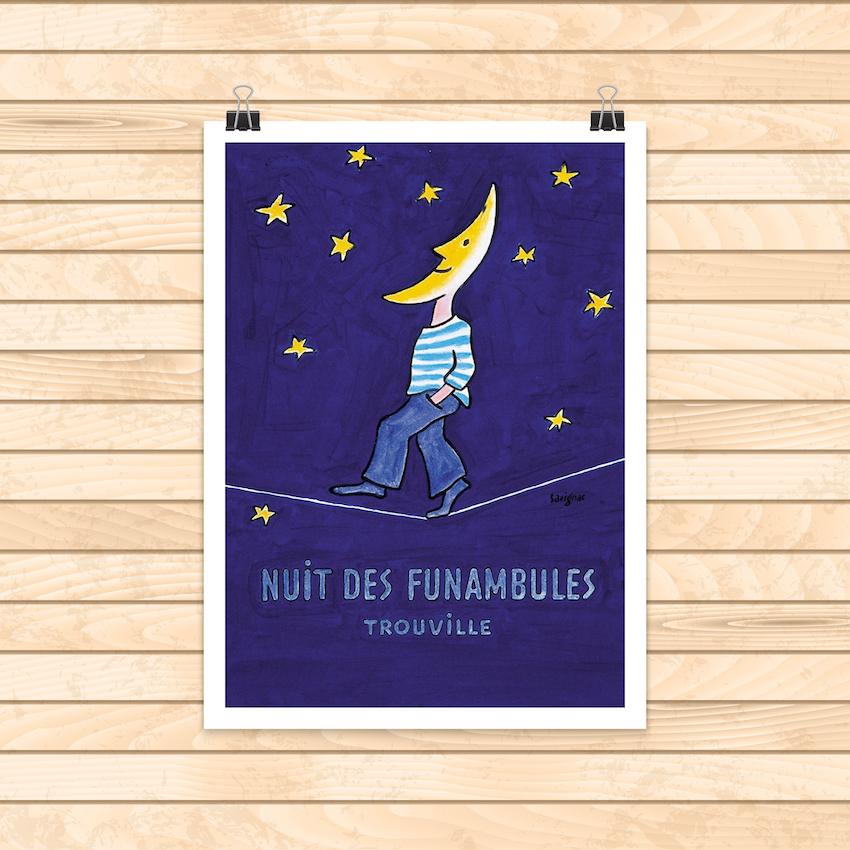 Affiche Funambule : 16,00€