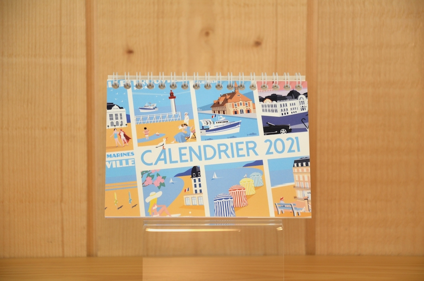 Calendrier 2021 by Eric Garence : 9,90€