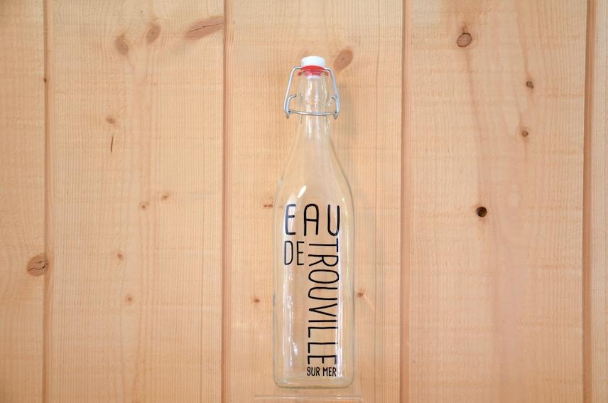 Bouteille « Eau de Trouville » : 15,00€