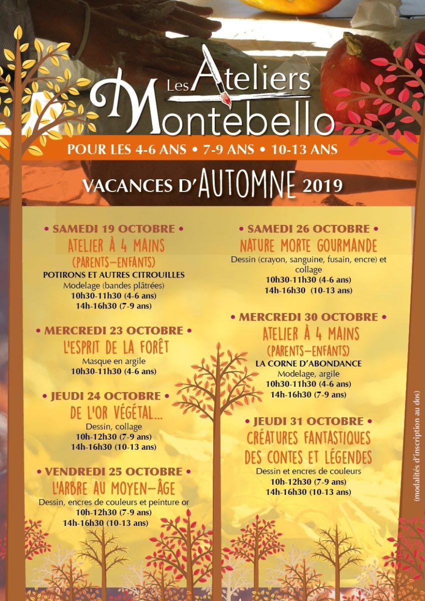 Ateliers-Montebello-vacances-automne-2019
