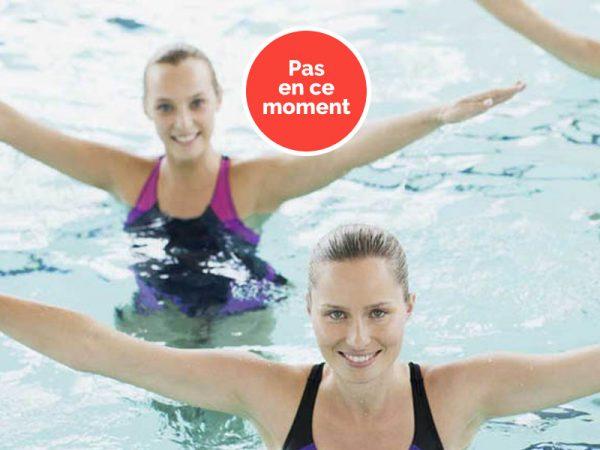 Cours collectifs en piscine aux Cures Marines Trouville Hôtel Thalasso & Spa