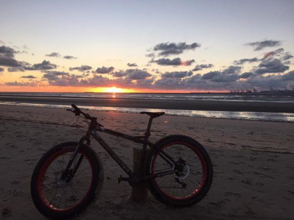 Les Trouvillaises – Sortie en Fat Bike sur la plage