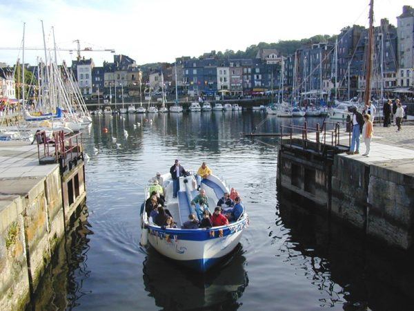 Promenade en bateau Honfleur Jolie France & La Calypso