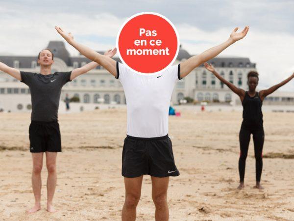 Sports sur la plage de Trouville-sur-Mer